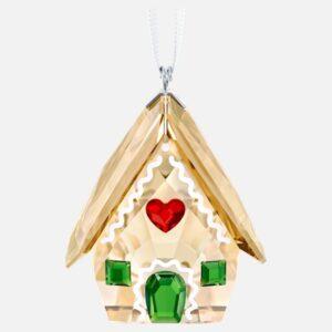 swarovski gingerbread house ornament 5395977