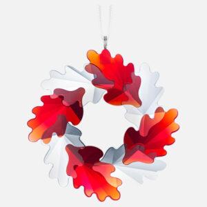 swarovski wreath ornament leaves 5464866