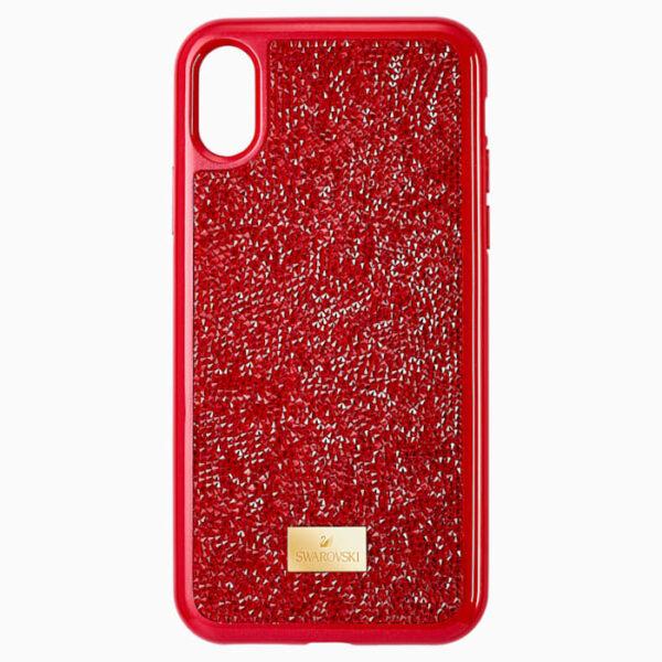 Swarovski glam rock smartphone case iphone® x xs red 5479960