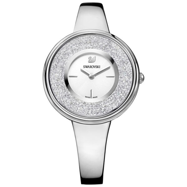 Crystalline Pure Watch, Silver Tone