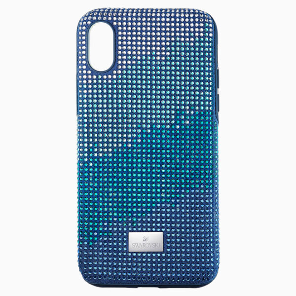 Crystalgram Smartphone Case with Bumper, iPhone® X/XS, Blue