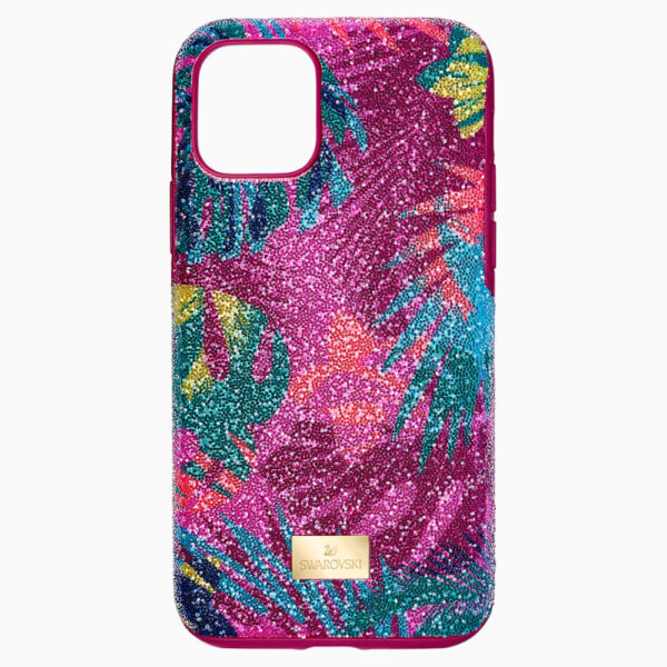 Tropical Smartphone Case with Bumper, iPhone® 11 Pro, Dark multi-colored
