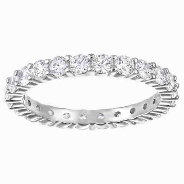 swarovski vittore xl ring white rhodium plated swarovski 5257479