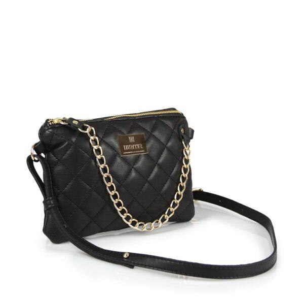 Hunter Γυναικεία τσάντα μέσης mini QG Μαύρο 54001962 bla 2