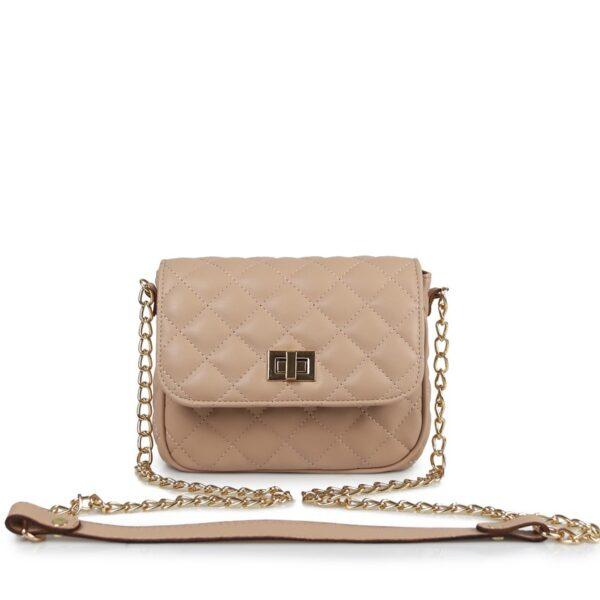 Hunter Γυναικεία τσάντα χιαστί flap QG Nude 54001959 n 1