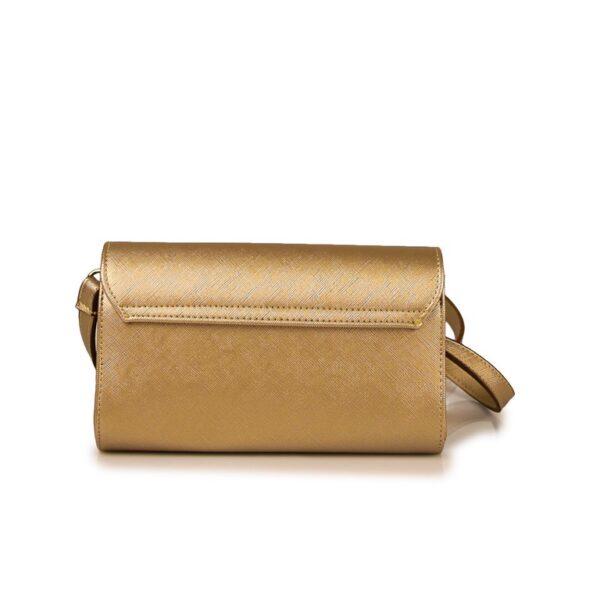 Hunter Γυναικεία τσάντα flap GC Χρυσό 54002029 g 4