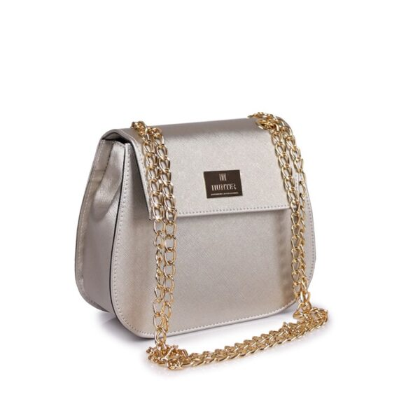 Hunter Γυναικεία τσάντα glam GC Ασημί 54002026 s 2