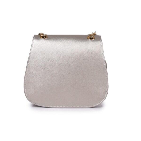Hunter Γυναικεία τσάντα glam GC Ασημί 54002026 s 4