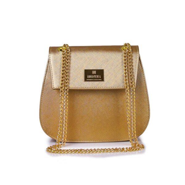 Hunter Γυναικεία τσάντα glam GC Χρυσό 54002026 g 1