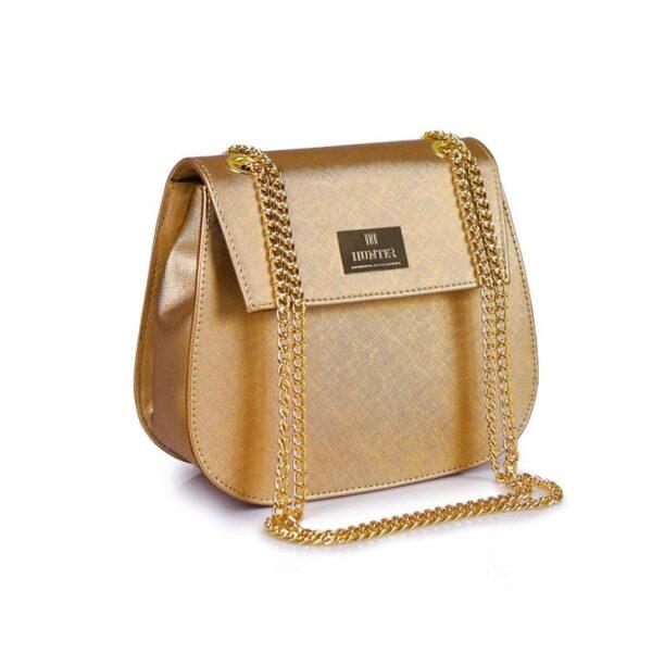 Hunter Γυναικεία τσάντα glam GC Χρυσό 54002026 g 2