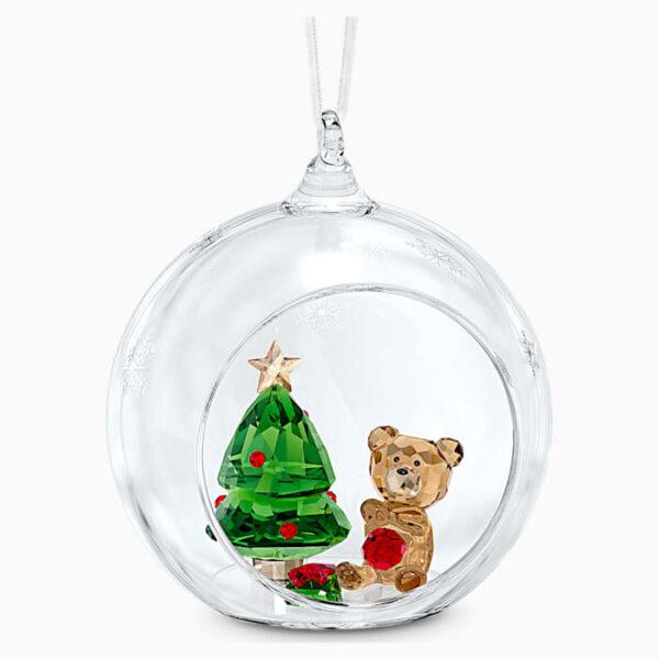 swarovski ball ornament christmas scene swarovski 5533942