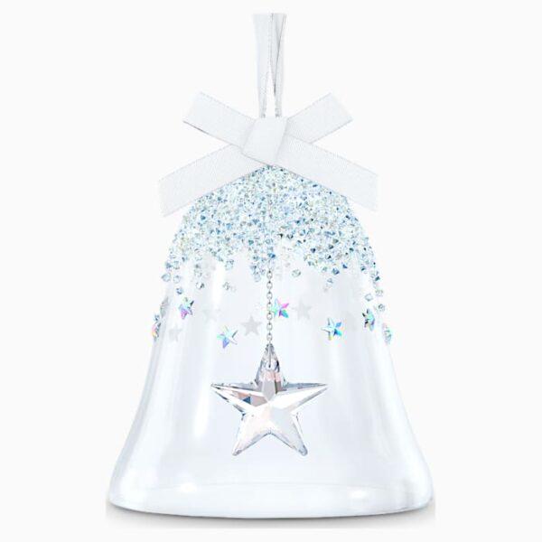 swarovski bell ornament star large swarovski 5545451