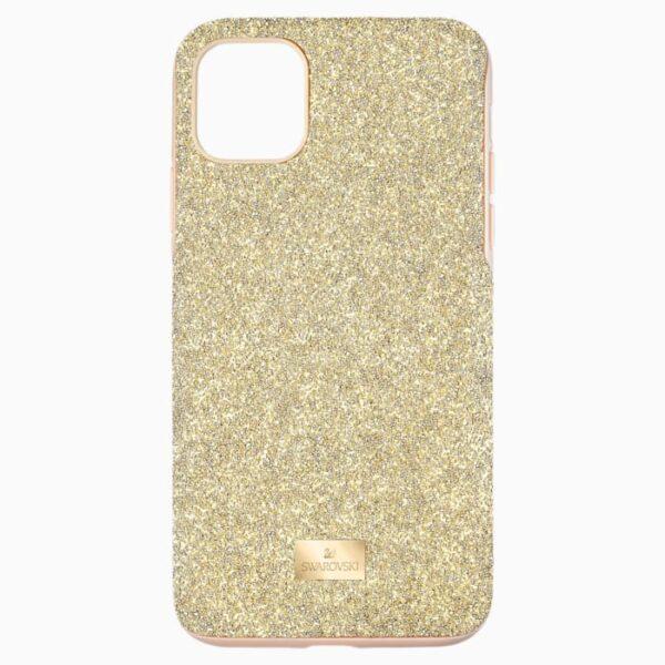 swarovski high smartphone case with bumper iphone® 11 pro max gold tone swarovski 5533970