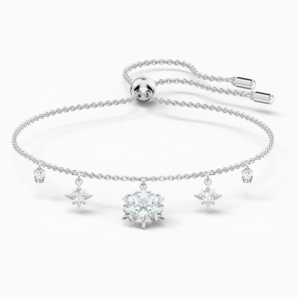 swarovski magic bracelet white rhodium plated swarovski 5576695