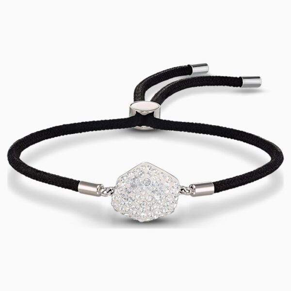 swarovski power collection air element bracelet black stainless steel swarovski 5568271
