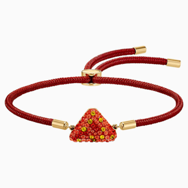 swarovski power collection fire element bracelet red gold tone plated swarovski 5568269