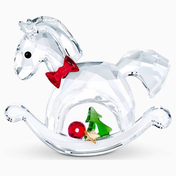 swarovski rocking horse happy holidays swarovski 5544529