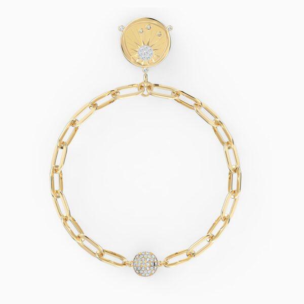 swarovski the elements sun bracelet white gold tone plated swarovski 5569190