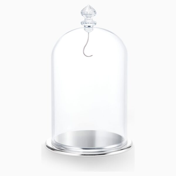 swarovski bell jar display large swarovski 5527606
