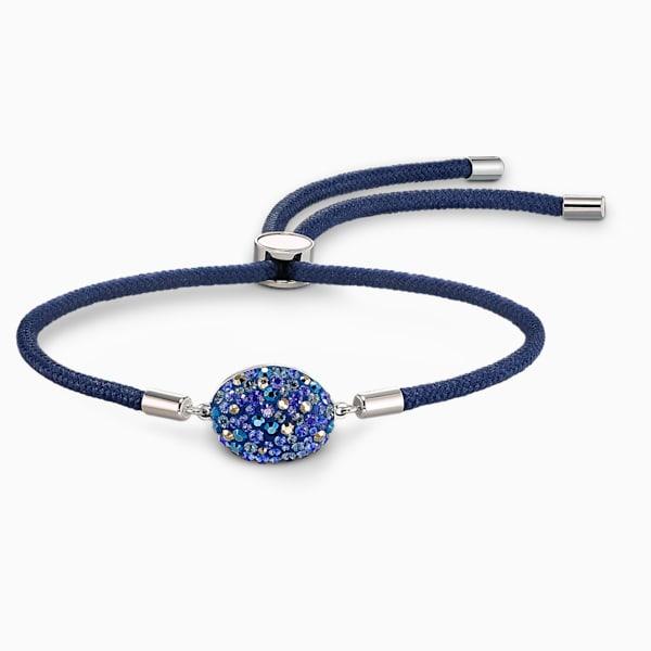 swarovski power collection water element bracelet blue stainless steel swarovski 5568270